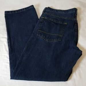 Nautica 5-Pocket Blue Denim Straight Leg Jeans